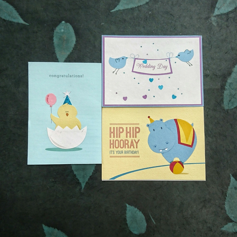 Greetings card Summer special
