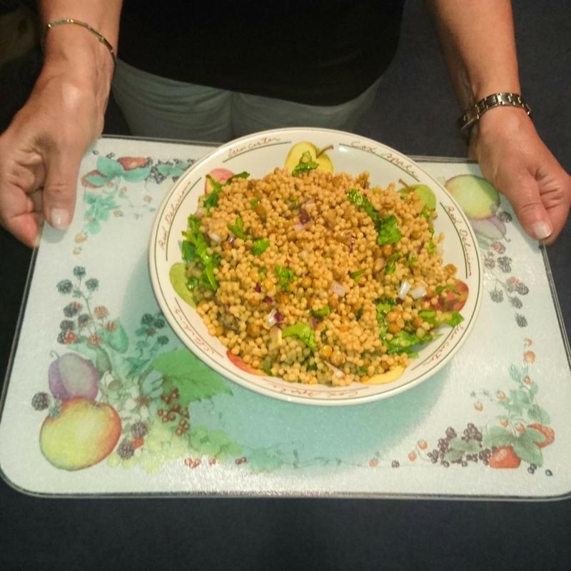 Fairtrade Maftoul and Lentil Salad recipe